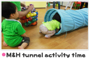M&H tunnel activity time